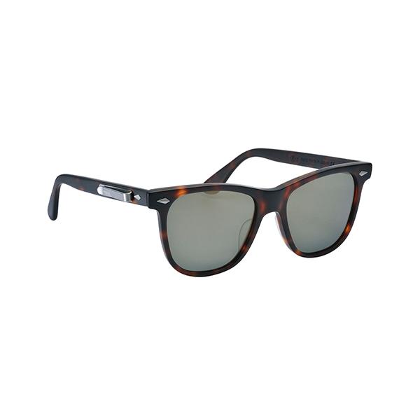 Matte Demi Amber Sunglasses